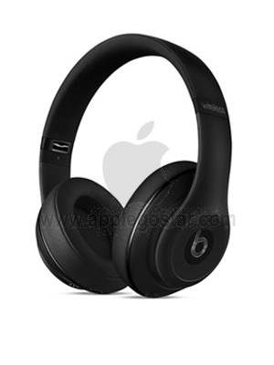 هدفون بی سیم اپل بیتس استودیو مشکی Apple Beats Studio Wireless Over‑Ear Headphones Matte Black