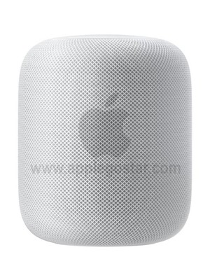 اسپیکر هوشمند خانگی فوق حرفه ای هوم پاد اپل سفید Apple HomePod Smart Speaker White