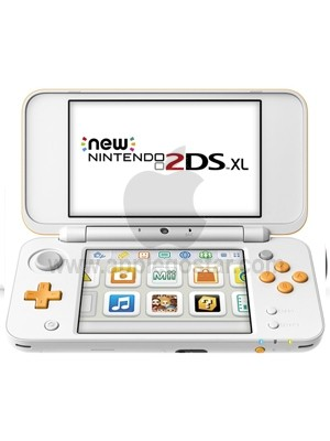 کنسول بازی نینتندو سفید و نارنجی Nintendo new 2ds XL White Orange