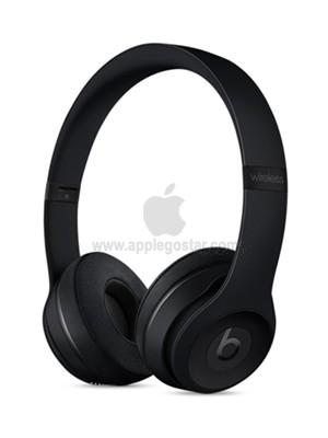 هدفون بی سیم اپل بیتس سولو 3 مشکی Apple Beats Solo3 Wireless On-Ear Headphones Black