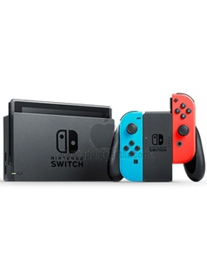 کنسول بازی نینتندو سوئیچ Nintendo Switch with Neon Blue and Neon Red Joy‑Con