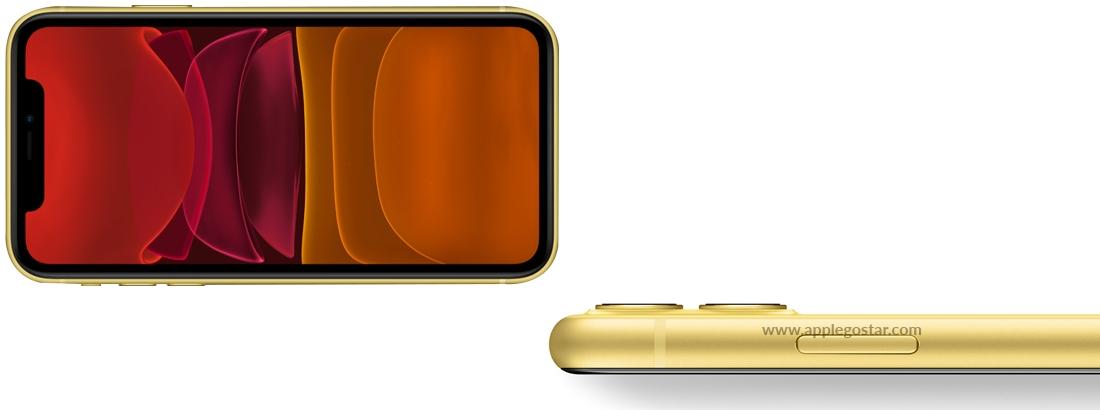 نمایشگر شفاف 6.1 اینچی آیفون 11 اپل