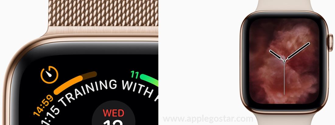 طراحی اپل واچ 4