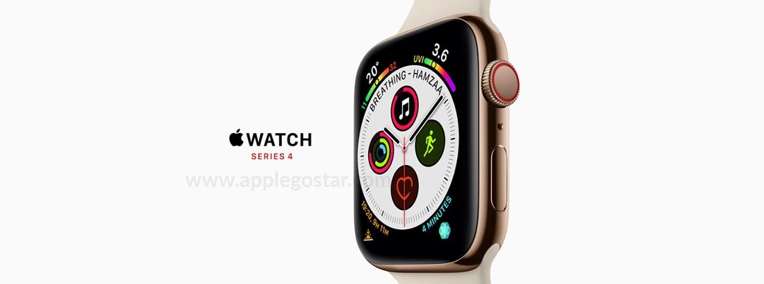 ساعت هوشمند اپل واچ سری 4 44 میلیمتری