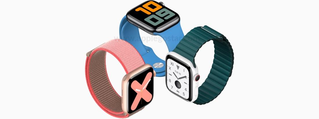 ساعت هوشمند اپل واچ سری 5 44 میلیمتری